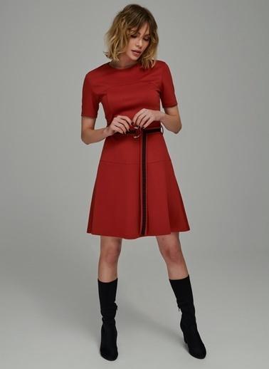Şerit Detaylı Elbise-People By Fabrika